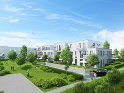 Appartement (ca. 70m²) met terras, stadstuintje en 1 slaapkamer in residentie Parkzicht.  INDELING: inkomhal - toilet - leefruimte met ge&iuml