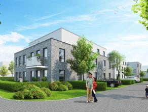 Dakappartement met 2 slaapkamers en terras binnen residentie Parkzicht.  INDELING: inkomhal - toilet - vestiaire - leefruimte met geïnstalleer