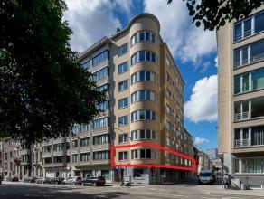 Dit uitgestrekt appartement van net geen 200 m² bewoonbare oppervlakte is zeer aangenaam gesitueerd.  De voorzijde kijkt uit over het Zuidpark,