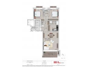 Dit nieuwbouwproject bestaat uit 35 appartementen, opgedeeld in 2 gebouwen.  Gebouw A telt 20 appartementen waarvan 10 appartementen met 3 slaapkame