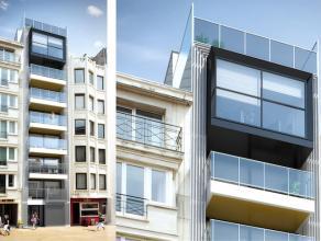 Centraal gelegen 2 slaapkamer appartement met leuk zonneterras aan de leefruimte op een sublieme ligging aan de zonnekant in een standingvol hedendaag