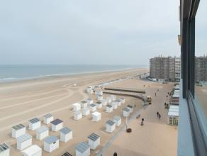 Dit appartement gelegen zeedijk Oostende werd met smaak en oog voor detail volledig gerenoveerd. Gelegen op de zesde verdieping geniet u van een prach