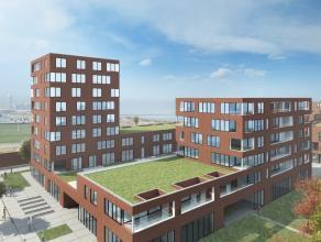 Prachtige appartementen in residentie Spinnaker op de site Militair Hospitaal gelegen langs de Oosteroever van Oostende. Op enkele meters van strand e