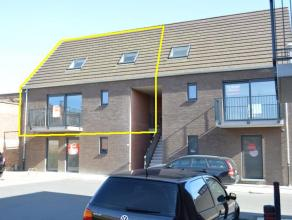 Ruime nieuwbouw duplex appartement vlakbij het centrum van Roeselare  Duplex omvat volgende indeling: VERDIEPING 1: inkom met trap naar 2e verdiep