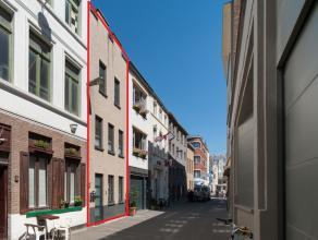 Mooi gerenoveerd duplexappartement gelegen in het volle centrum van de stad bij het Wapenplein en het Marie Joséplein.  Klein gebouw met slecht