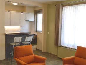 Gezellig en modern appartement vlakbij station en centrum Ieper. Geen huisdieren toegelaten. Het appartement bestaat uit:  V+1: Inkom met apart toil