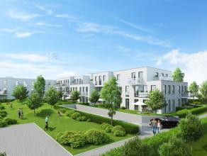 Residentie Parkzicht te Roeselare.  Dit nieuwbouwproject wordt opgetrokken op een boogscheut van het centrum van Roeselare.  Rond een centrale gro