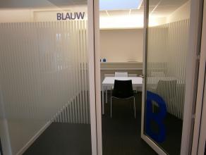 Instapklaar (gemeubeld) kantoor van ca. 15 m² met diensten beschikbaar, ideaal voor startende ondernemers. Aanwezigheidslimiet (3 halve dagen per