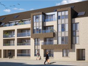 Dit ruime nieuwbouw woonappartement (100m²) met 2 slaapkamers is centraal gelegen te Mariakerke op wandelafstand van handelszaken, openbaar vervo