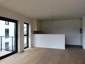 Dit appartement (88,3 m²) situeert zich in het nieuwbouwproject 'Blaisantpark'.  Via de leefruimte van dit appartement zal men een prachtig uitz