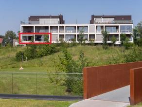 Rustig gelegen appartement (bwjr 2013) in het centrum met prachtig zicht op volledig aangelegd wandelpark. Appartement (125m²) met inkom, glazen