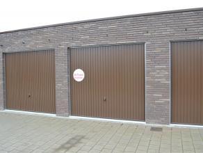Nieuwbouwgarage te huur Gelegen in de 'Nieuwe Wereld' te Izegem (Kortrijkstraat)