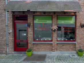 Overname van een gereputeerde traiteurzaak in het centrum van Brugge, op 20m van de Steenstraat (belangrijkste commerciële straat).  Indeling: