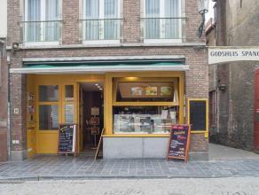 Overname handelsfonds van een volledig geïnstalleerde broodjeszaak op een top toeristische ligging in het centrum van Brugge nabij de Onze-Lieve-