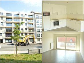Nieuwbouwappartement met twee slaapkamers, garage en terras gelegen in het centrum van Ieper. Huisdieren zijn niet toegelaten. Het appartement bestaat