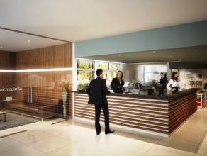 Commercieel gelegen kantoor langs de rand van Brugge.  INDELING: - Kantoor (ca. 330m²) bestaande uit inkom met receptie (27m²), wachtzaal, l
