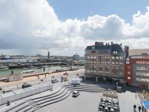 Dit aangenaam gerenoveerd appartement is gelegen op het Vissersplein waardoor men vanuit het appartement een uniek open zicht heeft over de havengeul.