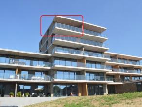 Luxueuze penthouse op de 5de verdieping in Residentie Neerstad. Rustgevende vergezichten over het centrum van Ieper vanop het terras. Kwalitatief afge