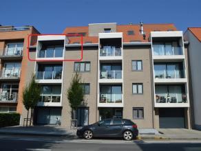 Nieuwbouwappartement in residentie 'Mango' op centrale ligging in de Brugseweg te Ieper. Volledig geschilderd en voorzien van de nodige verlichting. G