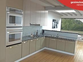 Ruime op te frissen HOB  op 427m² met mogelijkheid om zolder in te richten voor extra slaapkamers.   INDELING:  gelijkvloers: inkomhal, vestia