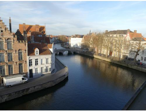Duplex te huur in Brugge, € 875