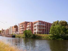 """Nieuwbouwproject  """"Hooge Vaart"""" met, in een eerste fase, 24 appartementen wordt door zijn unieke ligging een fraai sluitstuk van de Westkaai. In een t"""