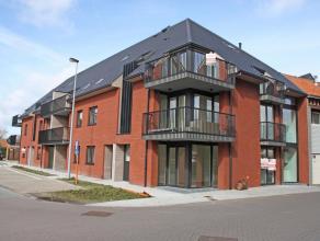 Zeer ruim zuidgericht appartement in nieuwbouwresidentie Rutherford, gelegen in het centrum van Ruddervoorde, tussen de Sijslostraat en het Hofplein.