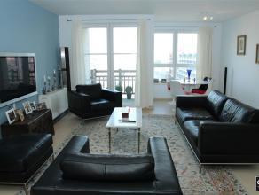 Eigentijds aangenaam appartement met zeer mooi zicht te Zeebrugge.Indeling : ruime en lichtrijke woonkamer, terrasje vooraan met zicht over de jachtha