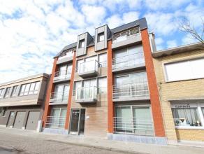 Nieuwbouwappartement met 1 slaapkamer en slaaphoek op rustige locatie nabij de vismijn van Zeebrugge.   Dit appartement op de 2de verdieping beschik