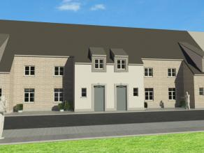 Centraal gelegen nieuwbouwwoning te Ettelgem, nabij school en winkels.<br /> <br /> De woning kent volgende indeling op het gelijkvloers: inkomhal met
