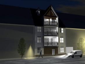 """Residentie """"Jeanne Panne"""" appartement met drie slaapkamers 110m², terras vooraan en achteraan in een kleinschalig nieuwbouwproject, uitstekend ge"""