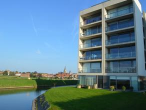 YserDycke.. gelegen aan de samenstroming van de Handzamevaart en de IJzer.  Prachtige zichten uit dit appartement.  Ruime living met openkeuken en bij