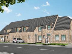 Nieuwe projectwoning in cottage stijl gelegen te  Waardamme, Watersnipstraat lot 13 - 16