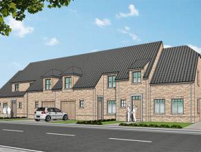 Nieuwe projectwoning in cottage stijl gelegen te  Waardamme, Watersnipstraat lot 13 - 16 | 75% verkocht, Laatste lot te koop.