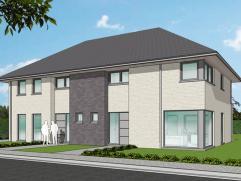 Nieuwe projectwoning in hedendaagse stijl gelegen te  Waardamme, Watersnipstraat lot 19&20   50% verkocht