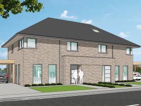 Nieuwe projectwoning in hedendaagse stijl gelegen te  Waardamme, Watersnipstraat lot 5&6 | 50% verkocht