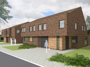 Nieuwe projectwoning in moderne stijl gelegen te  Waardamme, Watersnipstraat lot 9&10