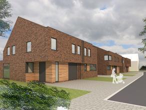 Nieuwe projectwoning in moderne stijl gelegen te  Waardamme, Watersnipstraat lot 11&12