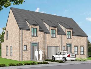Nieuwe projectwoning in landelijke stijl gelegen te <br /> Waardamme, Watersnipstraat lot 7 & 8 | 50% verkocht