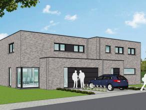 Nieuwe projectwoning in moderne stijl gelegen te <br /> Waardamme, Watersnipstraat lot 1 & 2 | 50% verkocht