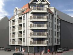 Prachtig duplex appartement met 2 slpks en zonneterras vooraan in res. Bor D'o.  Volledige ingerichte keuken, ruime woonkamer, apart toilet en berging