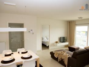 NIEUWPOORT Villa Capricia Appartement met 2 slaapkamers. Gelegen aan de zonnekant. Parkeerplaats of garage mogelijk. Volledig ingericht.