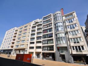 Residentie Fabiola - een zuidgericht appartement met uitgestrekt zeezicht aan Casino-Kursaal Oostende - 7°V - 60 m² - inkomhal - living van 2