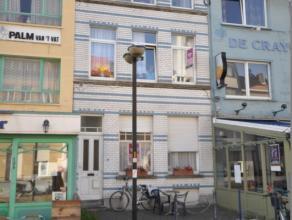 Interessante opbrengsteigendom - historisch centrum Oostende - wandelzone vlakbij Vistrap en Visserskaai.  - gelijkvloers +/- 40m² om te bouwen