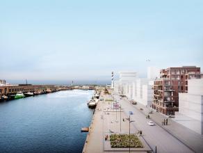 Prachtig nieuwbouw appartement gelegen in de Hendrik Baelskaai. U hebt een prachtig zicht op de zee en het havenverkeer. De living heeft heel veel lic