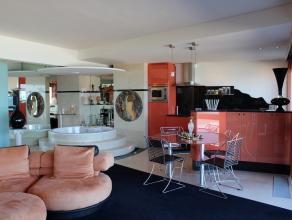 Fantastisch loft-appartement met eigenzinnige stijl. Speels bad mét zeezicht! Open keuken, twee ruime slaapkamers en groot zonneterras. Goed ge
