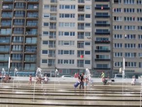 Gezellig bel-etage appartement met mooi zicht op het Klein Strand, Het Vissersmonument en de zee. 2 ruime slaapkamers. Ook geschikt voor vakantieverhu