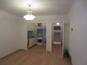 Instapklaar appartement met 1 slaapkamer in het centrum van Oostende. Terras aan de voorzijde. Halfopen ingerichte keuken. Badkamer met ligbad en aans