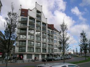 Appartement met prachtig zicht op de mercator en jachthaven, 6° verdieping. Omvattende: living met zonneterras, open keuken, 2 slaapkamers en badk