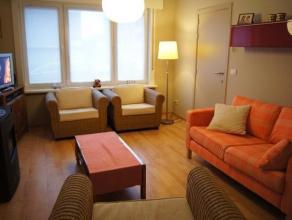 Knus ingericht 1-slaapkamer appartement op gelijkvloerse verdieping in een rustige residentie Private badkamer maar niet in het appartement zelf.  Gel